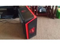 Super Gaming i7 2.83Ghz 4 Core 8 Threads, 8GB DDR3 GB RAM, 500GB HD, Geforce GT710 2GB, Gaming Case!