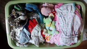 Vêtements pour bébé 0 jusqu'à 6 mois
