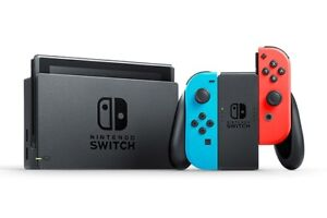 NINTENDO SWITCH USED WITH GAMES/ACCESSORIES