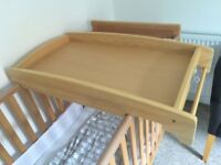 Mamas & Papas cot top changer
