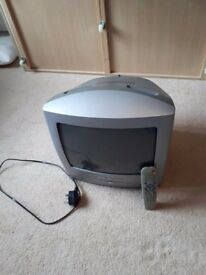 Tv with DVD player. Plug in freeview box