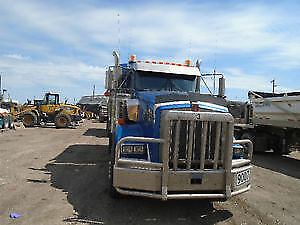 2008 kenworth t800 and 2008 jp trailer