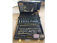 Halfords advanced 200 piece socket set (rathet, socket, spanners..)