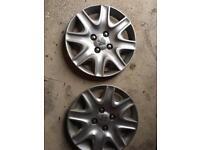 2 X Peugeot 207 wheel trims