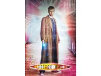 Doctor Who Poster (Tenth Doctor- Season 4) Features: 10th Doctor, David Tennant, Sonic Screwdriver