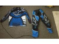 Alpinestar race suit