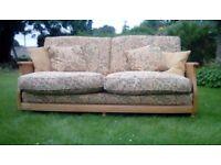 Ercol Bergere 3 seater sofa