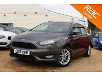 2015 15 FORD FOCUS 1.0 ZETEC 5D 100 BHP - RAC DEALER
