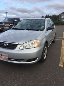 2006 TOYOTA CORRLA 5 SPEED