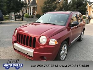 2007 Jeep Compass Limited 4x4 LOCAL ONE OWNER!
