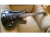 Schecter Blackjack 006 electric guitar