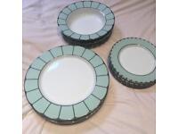 House of Fraser Persia Jade Dinner Plate (porcelain)