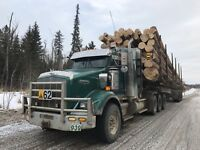 Log truck drivers required