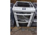 ZANUSSI FREE STANDING 55cm ELECTRIC COOKER, 4 MONTHS WARRANTY