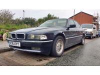 BMW 728i E38 Petrol/LPG Project car,spares or repairs!