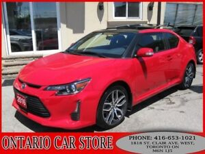 2016 Scion tC DUAL SUNROOF LEATHER TOUCH SCREEN