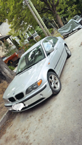 2003 BMW 320i V6 2.2L (also includes extra parts car)