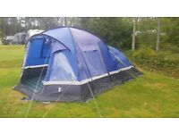 Hi-Gear voyager 6 tent and carpet