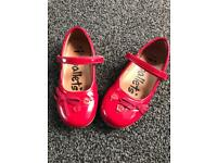 Girls party shoes size 11 from Matalan