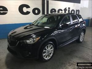 2014 Mazda CX-5 GT with Navigation, AWD, Power Sunroof