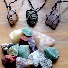 Handmade crystal necklaces !