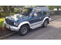 1993 K'reg Mitsubishi Shogun / Pajero SWB Auto 2.5 TD mot till 03-18