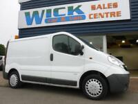 2011 Vauxhall VIVARO 2900CDTI SWB 115PS VAN *F/S/H* Manual Medium Van