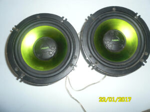 fusion 6.5''   mid bass speakers