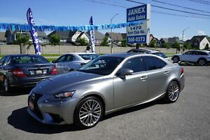 2014 Lexus IS 250 ACCIDENT FREE | NAVI | HTD S.WHEEL | ROOF