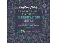 X2 Electric Fields festival weekend tickets