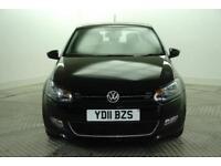 2011 Volkswagen Polo SEL Petrol black Manual