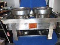 catering marmaid electric or meth lamps chaffing / hot food serving dish