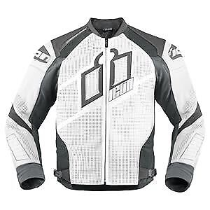 Icon Hypersport Prime perforated leather jacket, size L