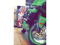 Kawasaki zx6r j2