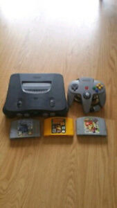 Nintendo 64 N64 with Expansion Pack Mario Party 1 and Donkey Kon