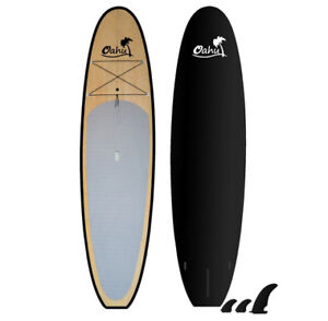 NEUF en BAMBOO Stand up Paddle board,SUP,Planche surf à Pagaie