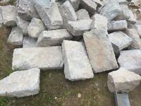Granite building stones ,
