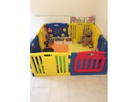 Mcc Baby Playpen with activity panel and playmats