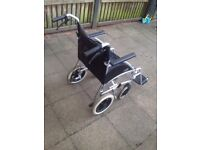 Mint condition hardly used wheel chair