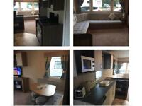HAGGERSTON CASTLE SEPTEMBER & OCTOBER DEAL BRAND NEW 2017 8 BERTH CARAVAN HIRE