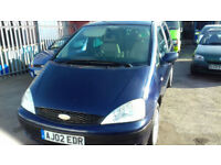 2002 Ford Galaxy 1.9TD ( 115ps ) 7 seater