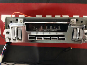 1968-1969 Dodge radio - rebuilt