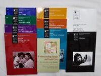 Various Open University books