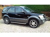 AUTOMATIC DIESEL 2003 KIA SORENTO 2.5 CRDI XS 1 YEAR MOT, S/HISTORY, FULL LEATHER.