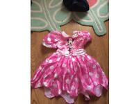 Disney Minnie Mouse costume 3-4 years