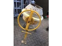 Bell mini mix/ Clark large cement mixer 240 volt electric immaculate clean/ working