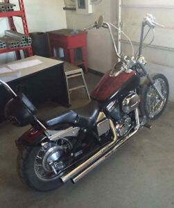 2001 Honda shadow 750 SELL OR TRADE FOR TRUCK!