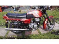 jawa 350 ts 1992 good honest bike