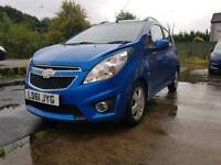 Chevrolet spark 1.2 LS+ 5dr -£30 road tax -61 plate but AS GOOD AS NEW