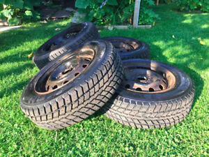 "Selling four 13"" Nexen winter tires"